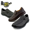 ● Dr.Martens ELASTIC SLIP ドクターマーチンメンズ genuine leather comfort casual shoes [HRD] _ _