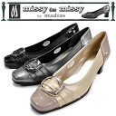 Pumps leather Madras Missy missy des missy MMD2144 Madras shoes madras with buckle ladies pumps made in Japan wedding / graduation / matriculation / MOM / commuting / invited ladies pumps 1 []