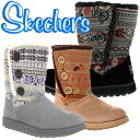 47657 スケッチャーズブーツレディースニットムートンブーツ SKECHERS Keepsakes-Cardigan sales deep-discount ladies boots ●[ fs3gm]