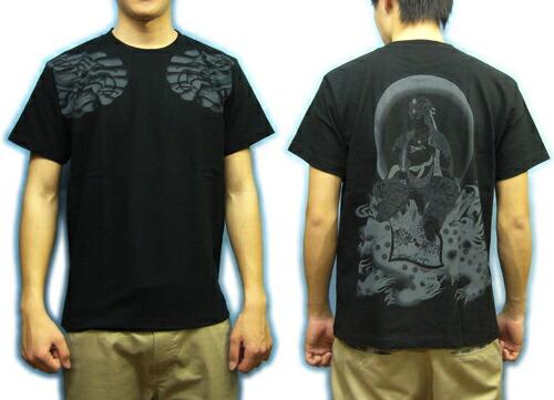 男装 上装 t恤衫,针织衫 商品详细信息   背面是高狮子莲花座像双腿