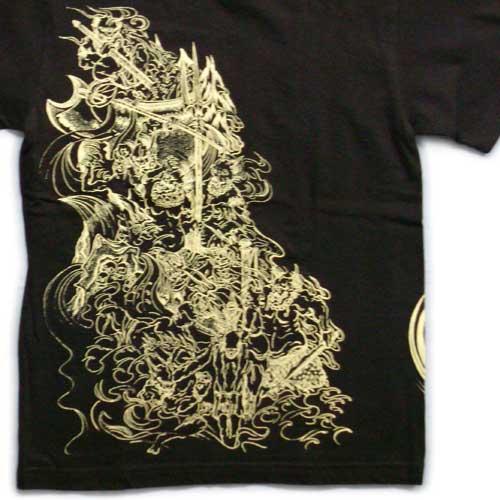 男装 上装 t恤 短袖 日式花纹 商品详细信息    回到地狱地狱 enma 奥