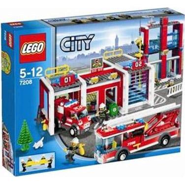 乐高市消防局 7208 [益智玩具