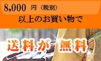 8400円以上のお買い物で、送料が無料になります!