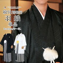 [haori one piece of article sale with the black ground crest] the haori washable which a coming-of-age ceremony, a graduation ceremony, an entrance ceremony is tailored, and men's things プレタ 無地袷地紋付 comes, and can wash the haori