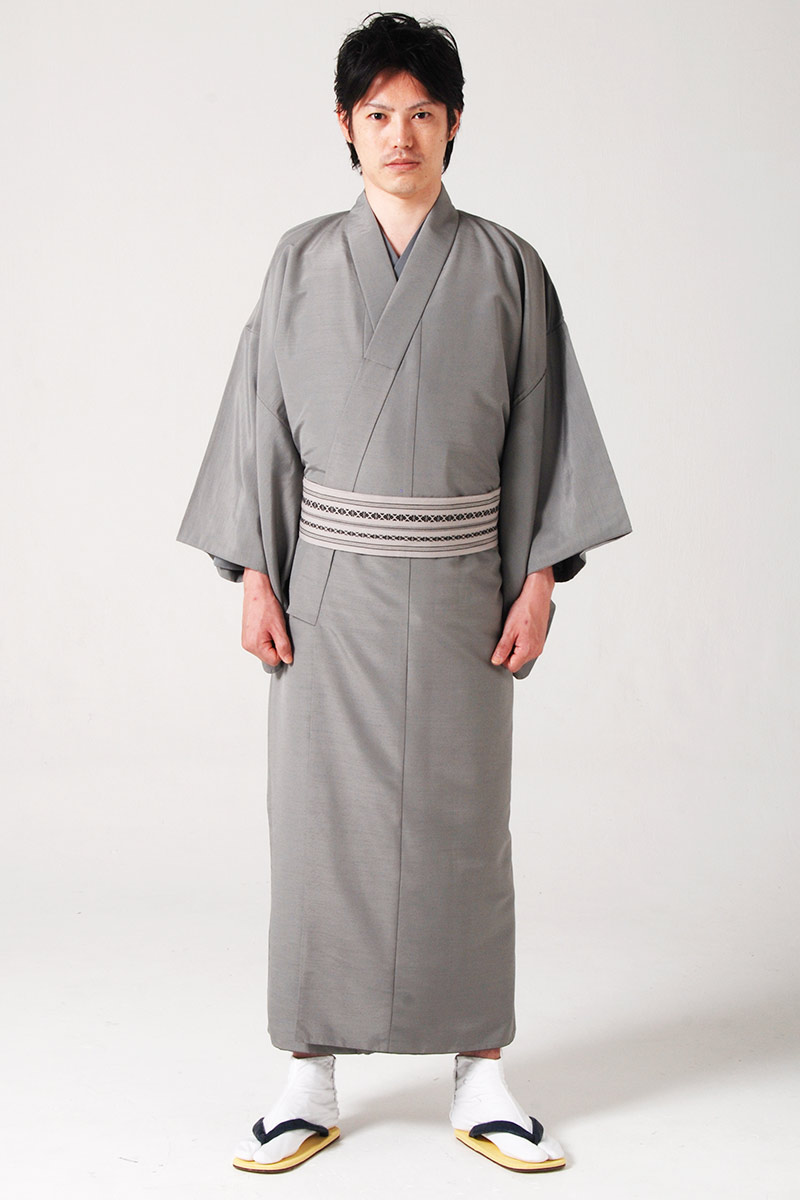 Navy Blue Kimono