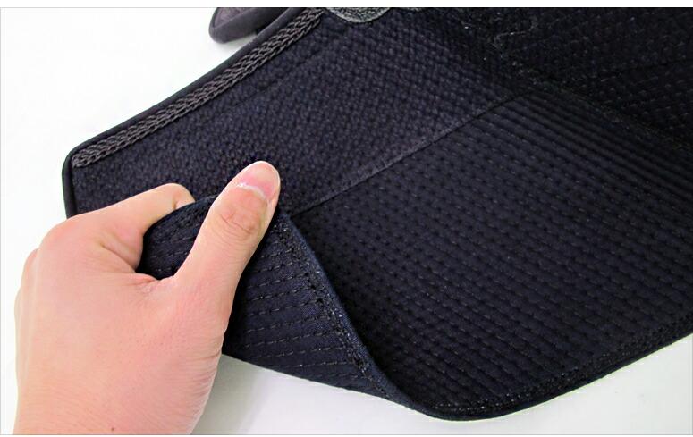 5ミリフィットステッチ機械刺防具 「飛鋼」面