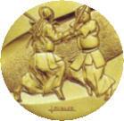 剣道大会用メダル