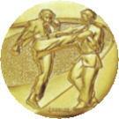 空手道大会用メダル