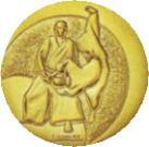 合気道大会用メダル