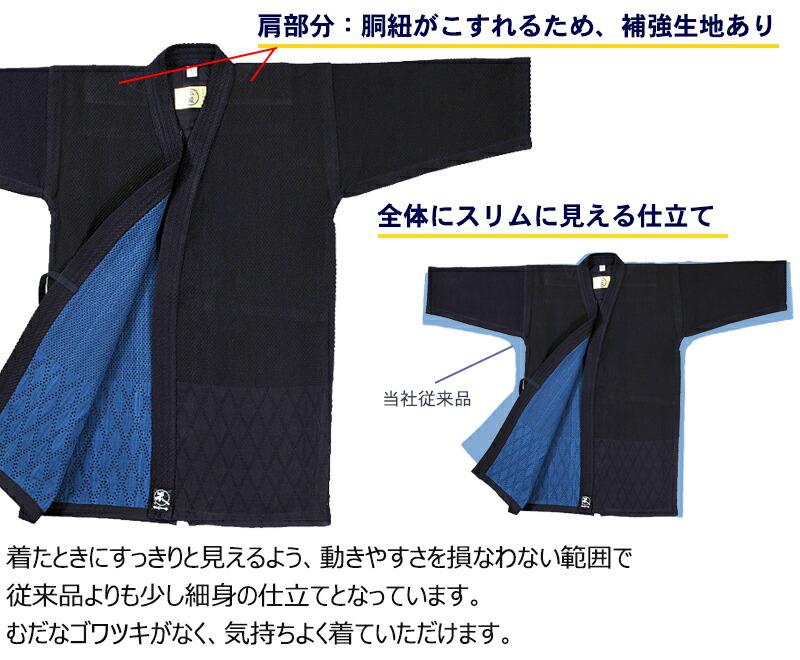 正藍染特製紺二重剣道着