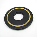 Tsuba gold wire insert