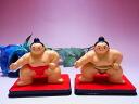 ◆ Sumo figurines pedestal