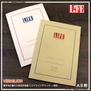 Come the special LIFE Vermillion A5 notebook (squared, ruled) paper writing feel!