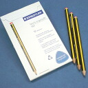 STAEDTLER ErgoSoft Norris triangular Futoshi axis writing pencils (2B) 1 dozen (12 PCs.)