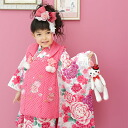 "Shichi 被布 set kimono ""cherry Hat Usagi-Chan!"" kids children's rabbit children's"