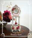 With pendulum clocks Beauty Rose rose rose gadgets accessory Interior birthday gifts Christmas celebration gift gifts gifts