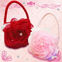"To a Seven-Five-Three Festival drawstring purse bag ""bag wedding ceremony celebration present gift of the flower"""