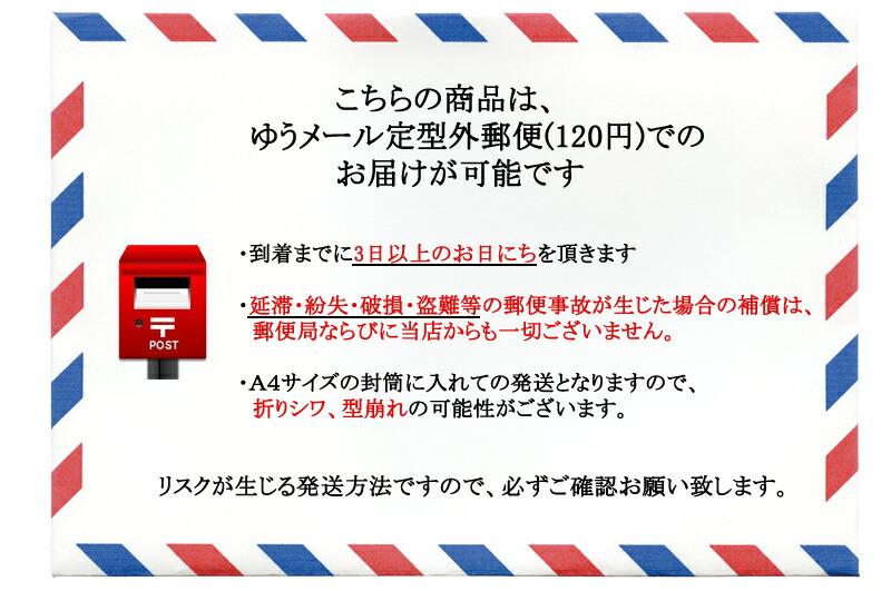ゆうメール定型外郵便