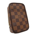 [Louis Vuitton] LOUIS VUITTON Damier etuis Okabe GM N61737 even 10x15.5x4.5cm beauty products