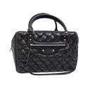 [Balenciaga, BALENCIAGA handbag black lambskin 31 x 22 x 18 cm