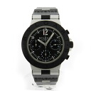 BVLGARIAC38BTAVD Diagono aluminium watch SS / rubber men