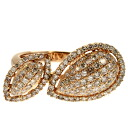 SELECT JEWELRY diamond ring K18 pink gold Lady's fs3gm