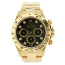 ROLEX Cosmograph Daytona Ref.16528G pure gold watch K18 mens