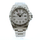 ROLEX16570 Oyster Perpetual Explorer 2 SS mens watch