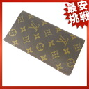 LOUIS VUITTON Porto Cal advantageous lady, yen note case long wallet abolished turn model M60825 long wallet (there is no coin purse) monogram canvas unisex