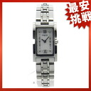 FRED square case watch SS Womens
