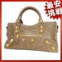173082.001013 BALENCIAGA the giant city handbag leather Lady's
