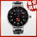 LOUIS VUITTON Tambour diving watch SS / rubber men