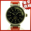 LOUIS VUITTON Tambour diver Q1031 SS / rubber mens watches
