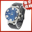 LOUIS VUITTON タンブールイン black Q118F watch SS / rubber men