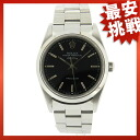 ROLEX14000M Air-King watch SS men