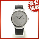 BVLGARIST35C6SLD solo tempo watch SS/ leather men