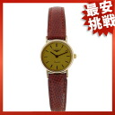 LONGINES round case watch SS / Leather Womens