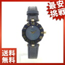 CENTURY prime time 8P diamond watch K18YG/ leather Lady's fs3gm