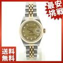 ROLEX date just 69173G オイスターパーペチュアル watch K18YG/SS Lady's