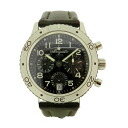 Breguet transformer Atlantic Ref.3820 watch SS/ leather men
