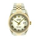 ROLEX16233 オイスターパーペチュアルデイトジャスト watch K18YG/SS men