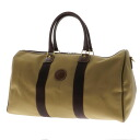 HUNTING WORLD safari today Boston bag canvas X leather unisex fs3gm