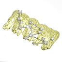 SELECT JEWELRY diamond broach K18 yellow gold / platinum PT900 Lady's fs3gm