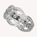SELECT JEWELRY diamond ring K18 white gold Lady's fs3gm