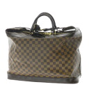 LOUIS VUITTON grim Damier N41160 Boston bag Damier Canvas unisex fs3gm