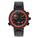 LOUIS VUITTON Tambour Q101A America's Cup 1851 book limited edition watch SS / rubber men