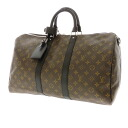 LOUIS VUITTON キーポルバンドリ ALE 45 M 56711 unisex strap with Boston bag モノグラムマカサー