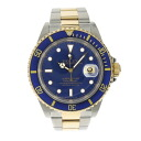 ROLEX Oyster Perpetual Submariner date 16613 men's watch K18YG/SS