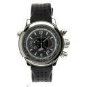 JAEGER-LECOULTRE master and compressor extreme world, Chronograph reference 1768470 SS / rubber mens watches