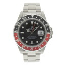 ROLEX16710 GMT Master 2 SS mens watch